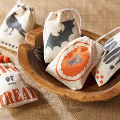 Martha Stewart Crafts® Trick or Treat Candy BagsTrick or Treat Candy Bags