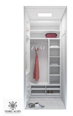 Closet 150/160 - #closet Small Closet Design, Bedroom Closet Design, Small Closets, Small Room Bedroom, Closet Designs, Corner Wardrobe Closet, Dressing Room Closet, Bedroom Wardrobe, Rustic Closet