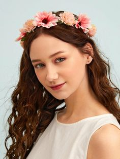 Flower Decor Hair Accessory | SHEIN South Africa Hair Accessory, Flower Decorations, Free Gifts, Headbands, Flowers, South Africa, Accessories, Jewelry, Fashion