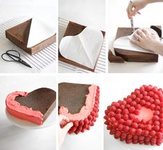 Sprinkle Bakes: Raspberry-Covered Devil's Food Cake
