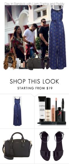 """""""Sem título #961"""" by vicmiranda ❤ liked on Polyvore featuring Topshop, Smashbox, Smythson, ASOS, women's clothing, women, female, woman, misses and juniors"""