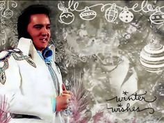 "▶ Elvis Presley - ""White Christmas"" -- perfection!!...."