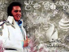 "▶ Elvis Presley - ""White Christmas"" -- perfection!!...."