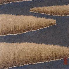 Julia Mitchell, Salt Marsh 3, 30 x 30 inches