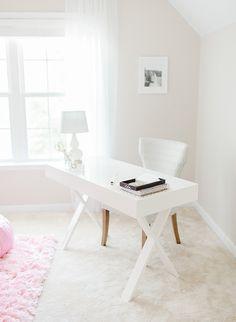 Home Office Design Decor Ideas White