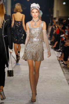 "Lady Kitty Spencer and British Model Aristos Walk Dolce & Gabbana's ""Secrets & Diamonds"" Show in Milan"