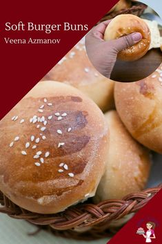 These soft burger buns are the best recipe you will ever make the next time you plan a burger feast. They are soft, fluffy and golden but most importantly they melt in the mouth. This simple, easy and effortless recipe will have you making homemade hamburger buns every time you decide to make homemade Burgers. #soft #burger #buns #hamburger #rolls #recipe #baking #bread #burger-buns Gluten Free Hamburger Buns, Homemade Hamburger Buns, Hamburger Bun Recipe, Homemade Burgers, Easy Baking Recipes, Bread Recipes, Melting In The Mouth, Bbq Party, Rolls Recipe