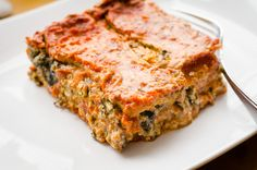 This vegan gluten-free Lasagna was created in the heat of summer when my son would bring home baskets of zucchini. It became a household favorite.