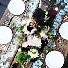 Inside Geri Hirsch's Picture-Perfect Dinner Party Under the Stars via @mydomaine