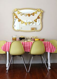 Birthday party idea for a little girl