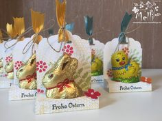 6 March 2015 StempelParadies: Bunny and Chick meets Tag Topper (Here are in Inch …. 2 3/16 x 5 3/4 inch Fold by 2 15/16 inch, 3 15/16 inch, 4 5/16 inch and 5 5/16 inch)