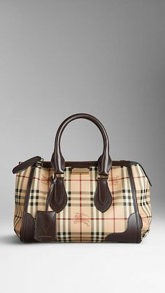 Small Haymarket Check Tote Bag | Burberry, My next indulgence.