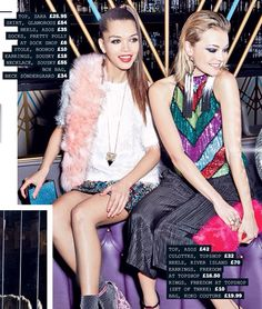 Star magazine show off 2 pieces of Souksy london, epiphany necklace and lavina necklace. Dance all night, sprinkle the sparkle and get ready to party #party #danceallnight #souksy #statementjewellery #fashion