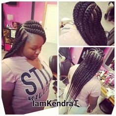 french braid hairstyles For Softball French Braid Hairstyles, African Braids Hairstyles, Protective Hairstyles, Protective Styles, Black Girl Braids, Braids For Black Hair, Girls Braids, Cute Hairstyles For Kids, Different Hairstyles