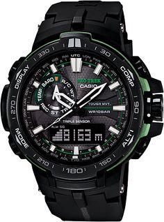 PRW6000Y-1A - Mens, Digital, Analog, Sport Watch   CASIO PRO TREK with Pathfinder Technology