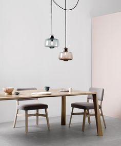 Small Glass Long Neck Lighting | Oxley/Butterworth