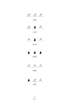 It's always a delight to find icon designs that are minimal yet easy to understand. cute tattoo ideas