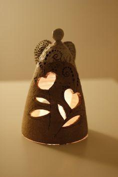 Imagen relacionada Hand Built Pottery, Slab Pottery, Ceramic Pottery, Pottery Art, Ceramic Art, Clay Design, Ceramic Design, Clay Angel, Pottery Angels