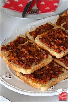 Ton Balıklı & Kaşarlı Ekmek Üstü Tuna, French Toast, Pasta, Bread, Breakfast, Food, Morning Coffee, Brot, Essen