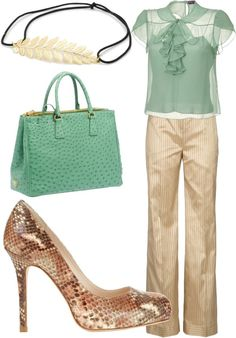 """work wear"" by afarhang on Polyvore"
