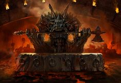 Altar of Mogis - MtG by AaronMiller | Digital Art / Drawings & Paintings / Fantasy
