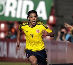 Falcao, Colombian soccer player.