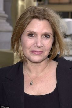 The star shot to fame at age when she first appeared as Princess Leia in the original Star Wars franchise. While her appearance has fluctuated over the years, Carrie recently lost Carrie Frances Fisher, Old Celebrities, Princess Leia, Saga, Movie Stars, Carry On, Star Wars, Hollywood, Actresses