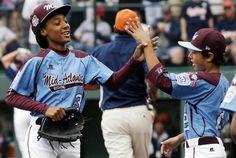 Mo'ne Davis wins AP Female Athlete of the Year honors | Deseret News Congrats Mo'Ne Davis.
