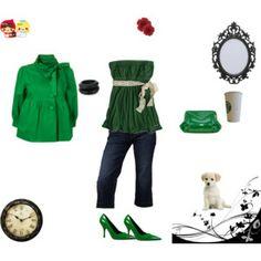 un dia coqueto #greenoutfit #chic #fashionista #love #misslunasylunares