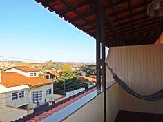 Vista da cidade de São Lourenço mg , da varanda do hotel real. http://hotelrealsaolourenco.com.br/