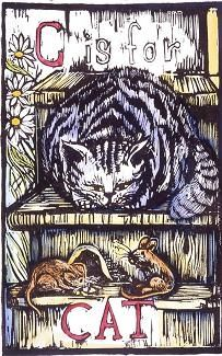 C is for Cat..... Artist Mary Azarian