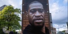 People around the world marked the first death anniversary of George Floyd, a Black man who was murdered by a white police officer in Minneapolis, US. Floyd, 46, died after Derek Chauvin knelt on his neck for about nine and a half minutes. Chauvin was convicted last month of murder and faces sentencing on June 25. Salt Lake City, Bbc, Civil Rights Lawyer, World Watch, Black Presidents, African American Men, Oprah Winfrey, People Around The World, Poster