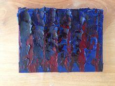 Riny Van Cleef, olieverf, 15 x 20 cm.