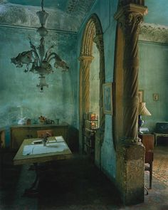 Michael Eastman (born 1947) Green Dining Room, from Cuba series, 2002 Chromogenic print