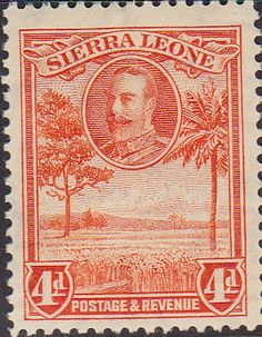 Sierra Leone 1932 King George V Rice Field SG 159 Fine Used Scott 144 Other African Stamps HERE