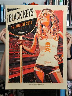 by Lars P. Krause. How is it that Black Keys continually draw the hottest designs?