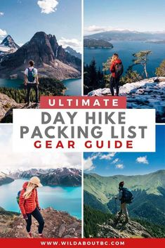 Hiking Checklist, Hiking Tips, Hiking Gear, Camping Gear, Backpacking, Summer Packing Lists, Packing List For Travel, Weekend Hiking, Day Hike