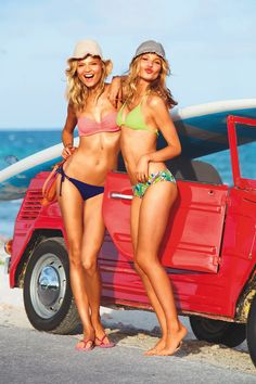 Beauties at the beach.
