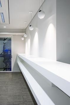 BPOST BANK Brussels #office #headquarters DARK® #lighting #concept by SEIN [www.bpostbank.be]