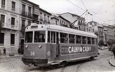 Coche motor Nº 26. Fotografía de Christian Schnabel. Archivo EuskoTren/Museo Vasco del Ferrocarril