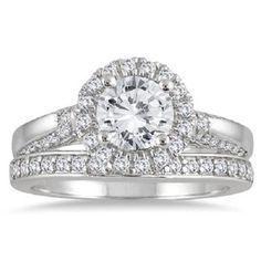 1 3/4CT ROUND CUT D/VVS1 DIAMOND SOLITAIRE ENGAGEMENT RING 14K WHITE GOLD BRIDAL #Jewelsbyeanda