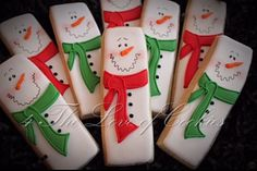Snowman cookies by Didi Cash Romero