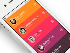 Dribbble - Flatlist User Style by Dan Romero