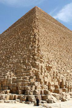 Pyramid of Cheops - Giza, Egypt