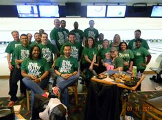 Capital One bowls for Junior Achievement of Central Virginia #JACV #BowlfortheGreen