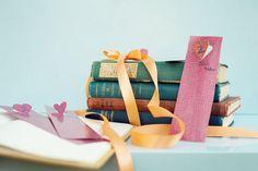 DIY: Bookmark Escort Cards via Project Wedding