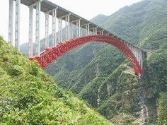 Zhijinghe River Bridge, China