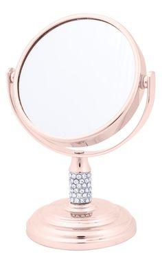 Espelho rosa dourado moda fashion 2017