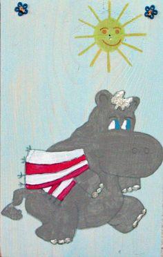 Een leuke hippo
