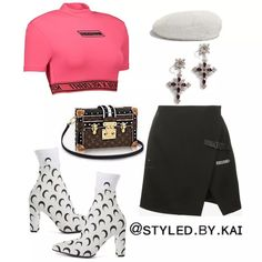 The Shoppable Fashion Social Network Kpop Fashion Outfits, Stage Outfits, Dance Outfits, Star Fashion, Stylish Outfits, Girl Outfits, Cute Outfits, Womens Fashion, Estilo Jenner
